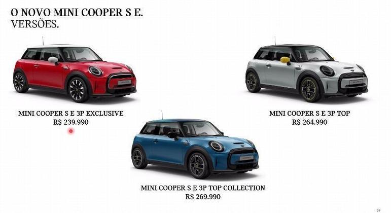 Modelo será vendido em três versões