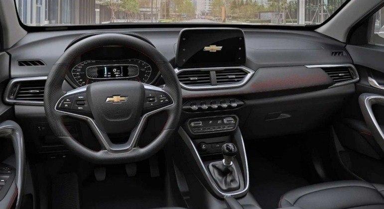 Modelo terá uma tela de 20 cm com conectividade Apple CarPlay e Android Auto