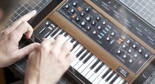 Moog libera app de criação musical gratuitamente para enfrentar a quarentena