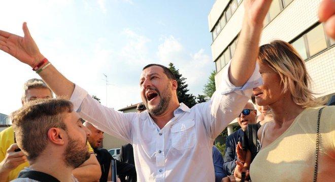 Proposta de Matteo Salvini, ministro do Interior, é parte de endureci