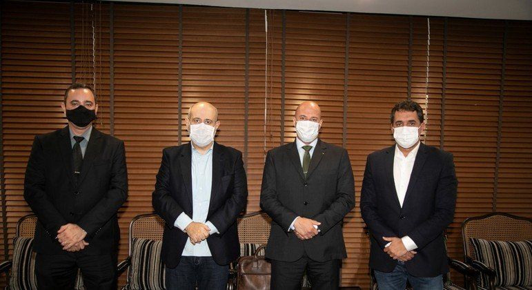 Anderson Vilela, Luiz Cláudio Costa, André de Sousa Costa e Alarico Naves