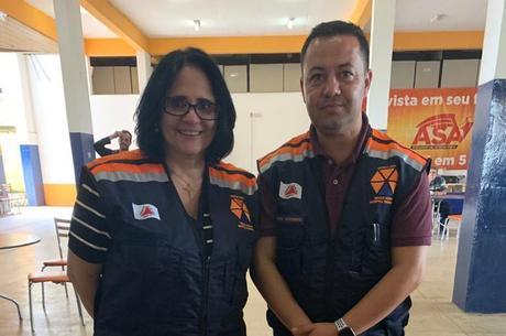 Ministra se encontrou com chefe de Defesa Civil