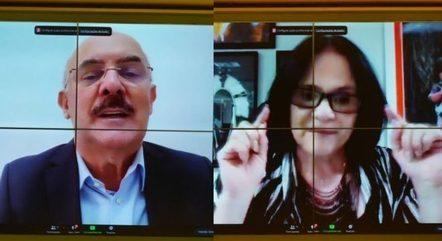 Milton Ribeiro e Damares Alves defenderam o homeschooling durante debate na Câmara dos Deputados