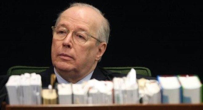O ministro Celso de Mello, decano do Supremo Tribunal Federal