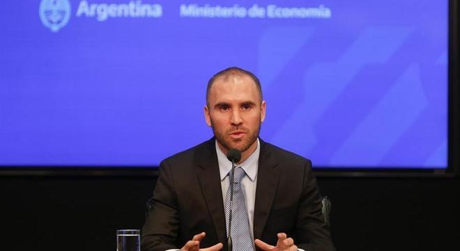 Ministro da Economia argentino, Martin Guzmán enviou uma carta ao FMI