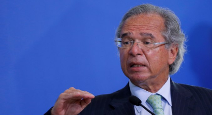 Ministro da Economia, Paulo Guedes, que teve reunião invadida por hacker