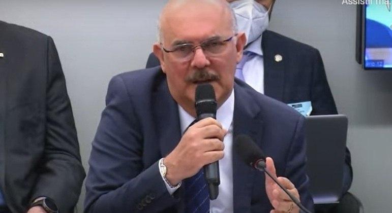 Ministro da Educação Milton Ribeiro participa de audiência na Comissão de Educação da Câmara