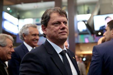 O ministro da Infraestrutura, Tarcísio Gomes Freire