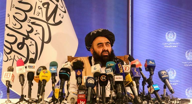 Ministro das Relações Exteriores do Talibã, Amir Khan Muttaqi, redigiu carta com pedido à ONU