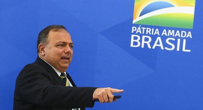 General Pazuello chegou ao Ministério da Saúde em abril, quando a pasta era comandada por Nelson Teich, na posição de secretário-executivo