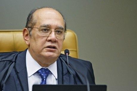 Na imagem, ministro Gilmar Mendes, do STF