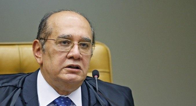 O ministro Gilmar Mendes, do Supremo Tribunal Federal