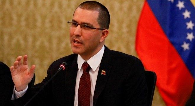 Jorge Arreaza acusa EUA de planejar intervenção na Venezuela