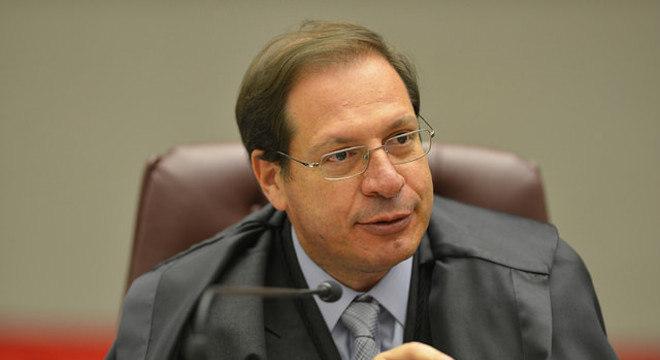 O ministro do TSE, Luis Felipe Salomão