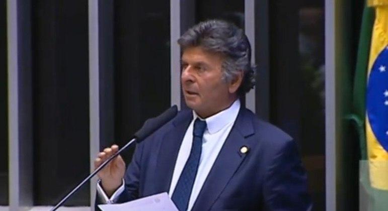 Ministro Luiz Fux no Congresso
