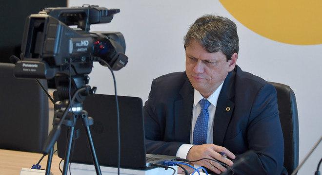 Ministro participou de live para debater retomada da infraestrutura no Brasil
