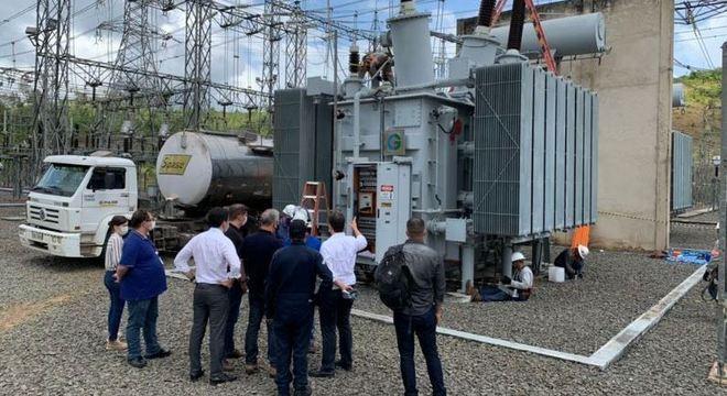 Ministro de Minas e Energia visitou subestação no interior do Amapá