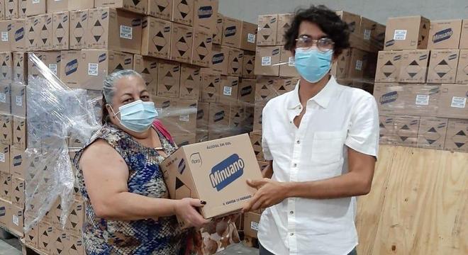 Empresa está fazendo ações para o combate do coronavírus desde o começo da pandemia