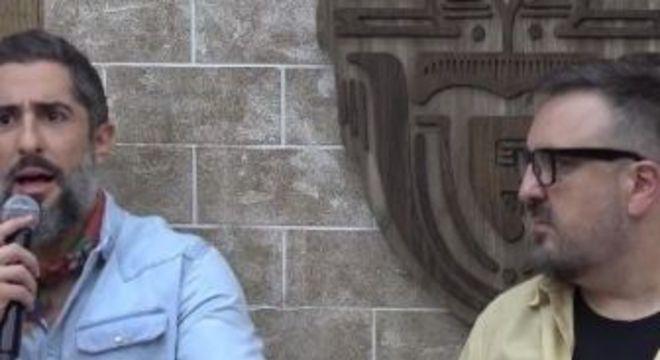 Mion e Careli. Foto: Record TV