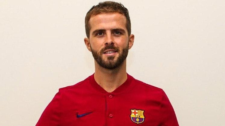 MIRALEM PJANIC - Contratado à Juventus pelo Barcelona. O clube espanhol pagou R$ 378 milhões pelo jogador (60 milhões de euros)