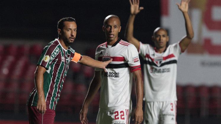 Miranda - Lateral-Direito - 36 anos - São Paulo: Miranda retornou ao São Paulo com status de
