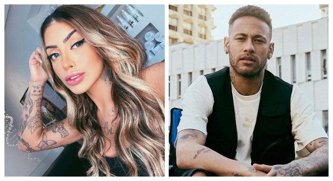 MC Mirella disse que beijou Neymar e o elogiou: 'Humilde e gente boa'