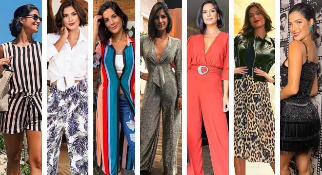 Eleita Miss Brasil no último sábado (9), Julia Horta dá 'surra' de estilo