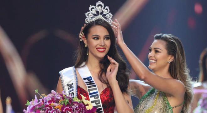 Miss Fililipnas é a vencedora da edição 2018 do Miss Universo