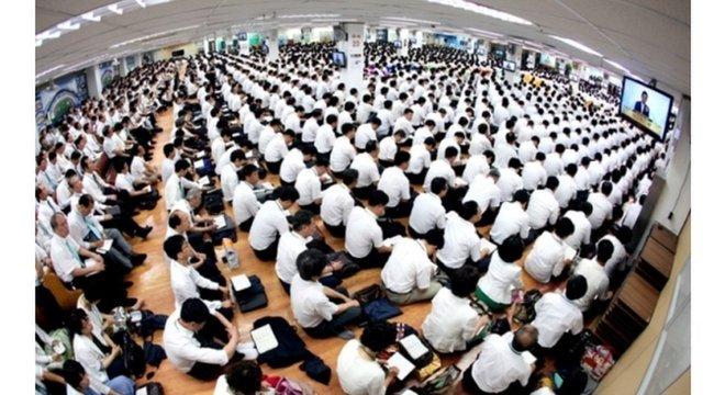 A Igreja Shincheonji de Jesus tem cerca de 300 mil membros na Coreia do Sul