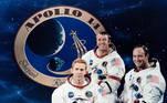 Missão apollo Lua astronautas