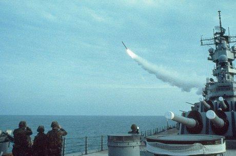 Os EUA usaram os Tomahawks pela primeira vez durante a operação Tormenta do Deserto, em 1991