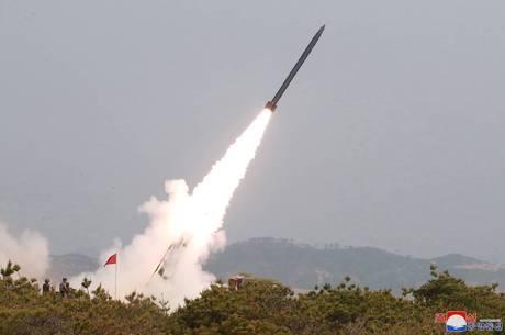 Teste de míssil é terceiro em oito dias