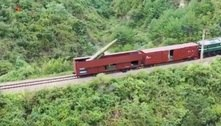 Coreia do Norte lança míssil a partir de vagão de trem; assista
