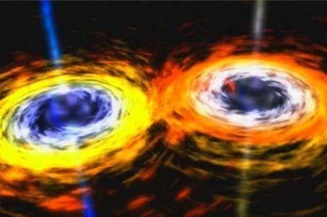 As ondas gravitacionais previstas por Einstein são geradas por distorções no espaço-tempo
