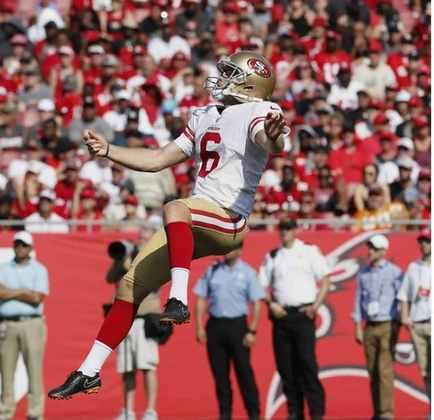 Mitch Wishnowsky (Austrália): Mais um punter australiano, desta vez vestindo a camisa do rival dos Seahawks - San Francisco 49ers.