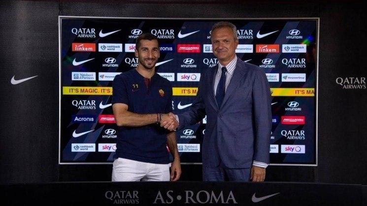 Mkhitaryan (31 anos) - Clube atual: Roma - Posição: meia - Valor de mercado: 20 milhões de euros