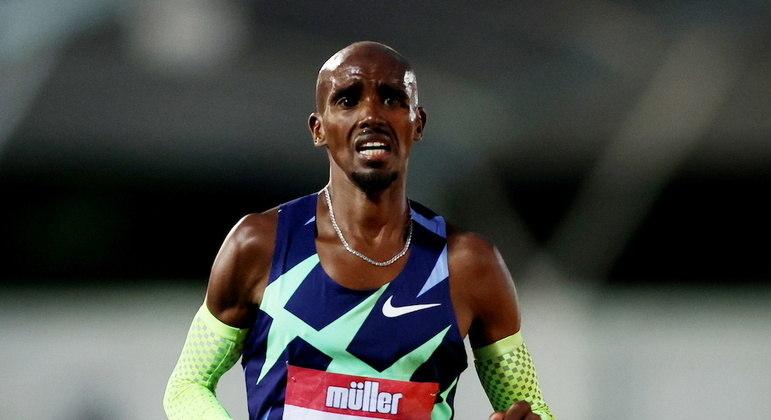 Mo Farah desabou em lágrimas ao perceber que não iria atingir índice olímpico