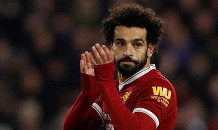 Mo Salah: O craque do Liverpool marcou 23 gols na temporada. Com os Reds, faturou a Premier League de 2019/20, sendo o artilheiro do time na competição com 19 gols marcados