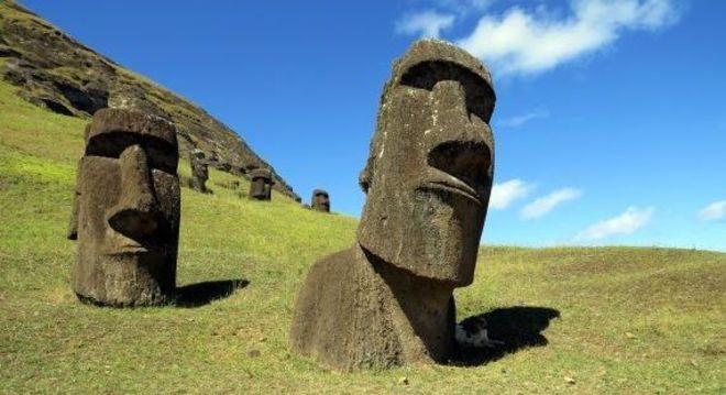 O planeta Terra está forrado de figuras, mosaicos, formações naturais e artefatos