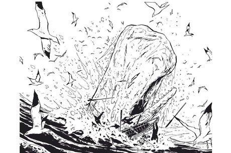 Moby Dick de Chabouté