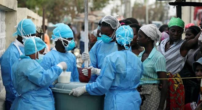Pelo menos 517 pessoas foram diagnosticadas com cólera em Moçambique