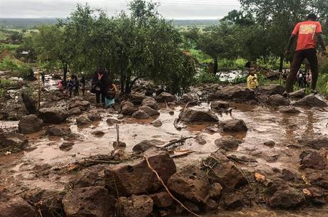 Em Moçambique, o número de mortos já chegou a 73