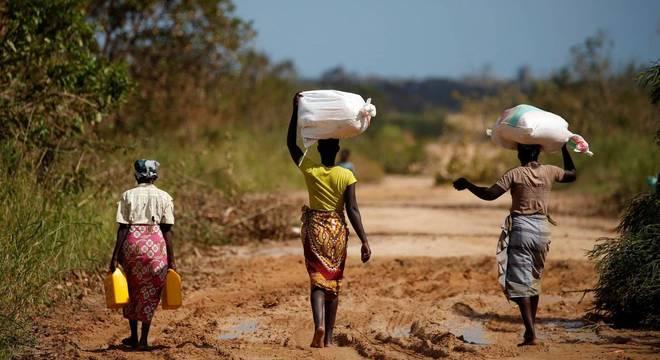 O preço dos alimentos disparou em Moçambique