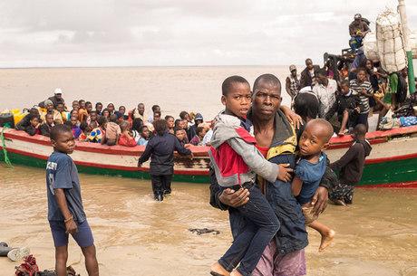 Beira teve 90% de sua área destruída