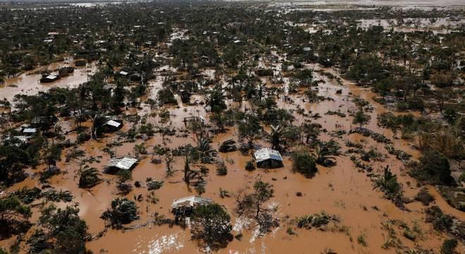 Pelo menos 2 milhões de pessoas foram afetadas pelo Ciclone Idai, em Moçambique