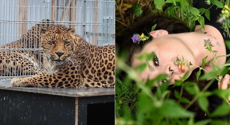 Modelo foi atacada por leopardo em casa de repouso para animais na Alemanha