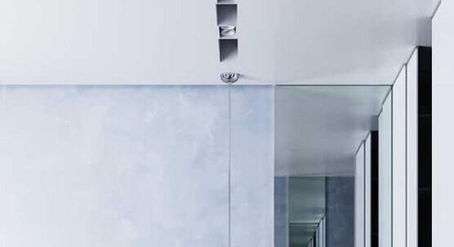 modelo de pendente para quarto cinza