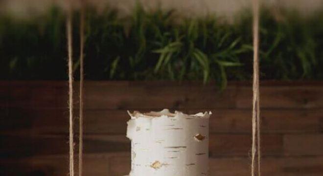 modelo diferente de bolo de casamento