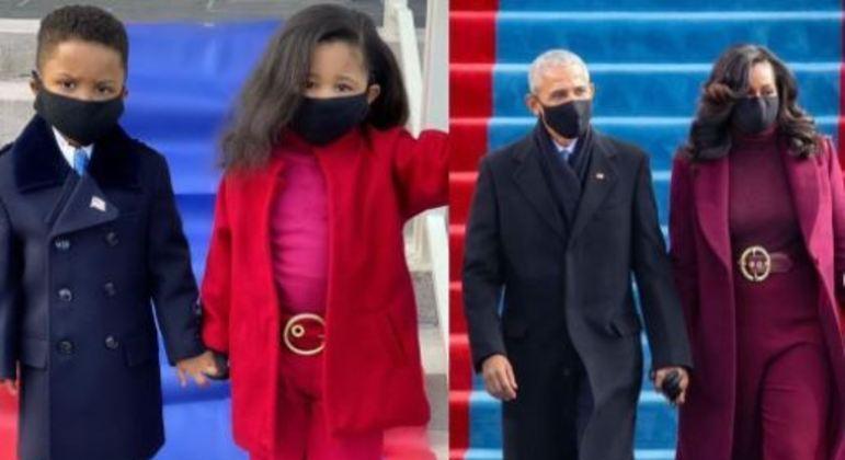 Menina já havia chamado atenção em janeiro, quando recriou a imagem do casal Obama