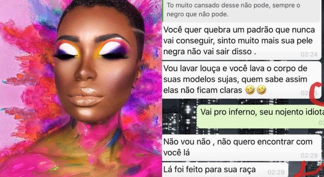 Modelo sofre racismo em concurso de maquiagem